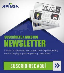 newsletter Plan de control de plagas