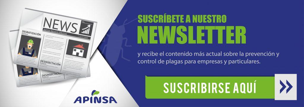 Empresas de control de plagas - newsletter Plan de control de plagas