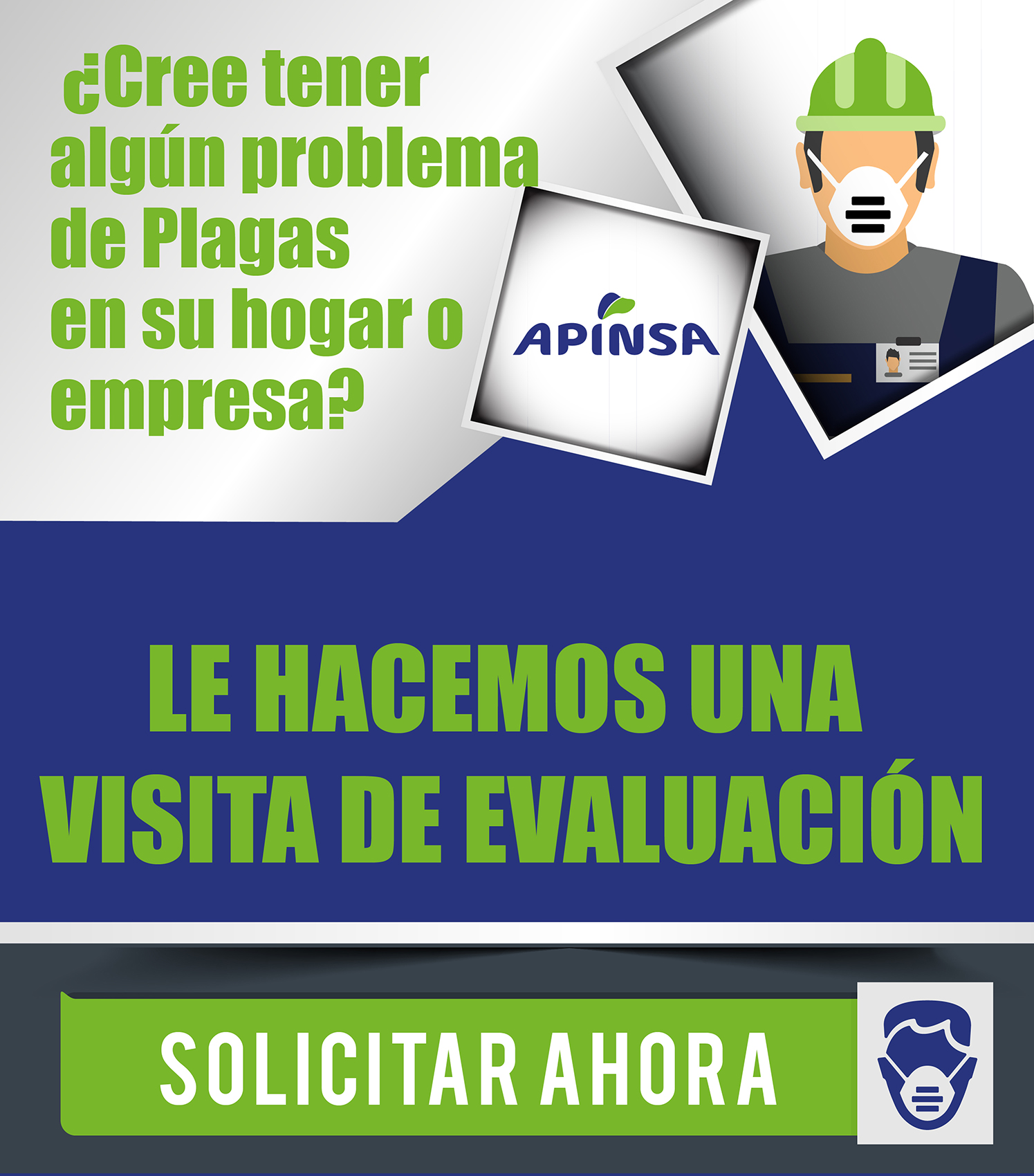 Inspeccion gratuita desratización, desinsectación y desinfectación en Canarias