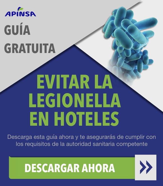 Guía para evitar la legionella en hoteles